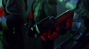 westworld FN P90 TR rifles