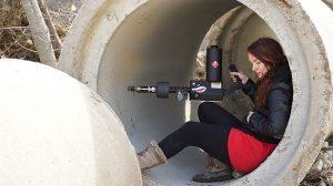 XM42 Flamethrower tunnel