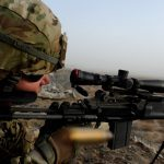 U.S. Army Interim Combat Service Rifle shot