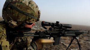 U.S. Army Interim Combat Service Rifle shot