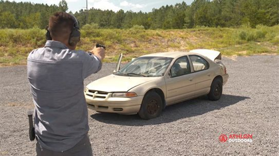 car pillars ballistics
