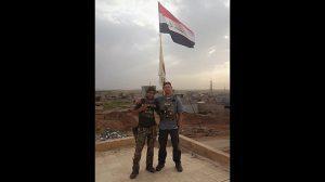 Mosul Medic Nik Frey flag