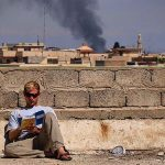 Mosul Medic Nik Frey reading