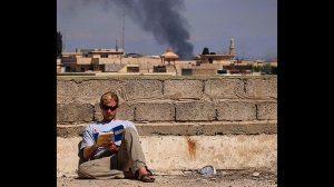 Mosul Medic Nik Frey reading