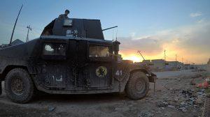 Mosul Medic Nik Frey sunset