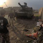 Mosul Medic Nik Frey tank