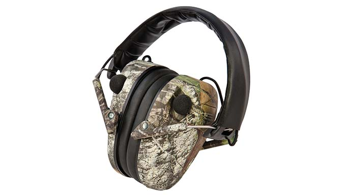 Caldwell E-Max Low Profile Mossy Oak Break-Up hearing protection