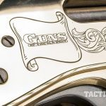 Henry 45-70 lever action rifle engraving