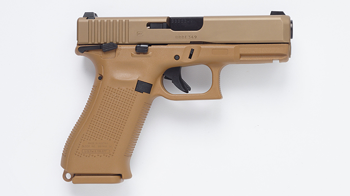Glock 23 Pistol Army XM17 modular handgun system right
