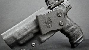 Custom RMR Cut OWB holster red dot sights