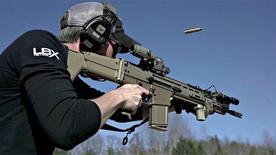 SCAR 17S rifle recoil FN America