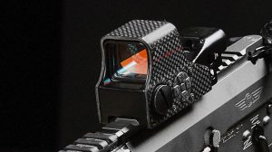 sightmark Ultra Shot M-Spec FMS Carbon Fiber Reflex Sight closeup
