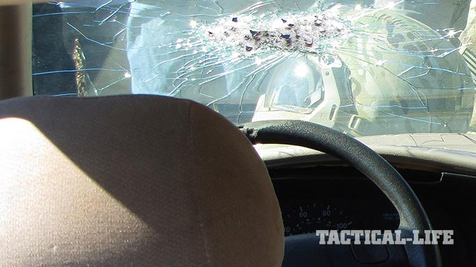 cars windshield bullets