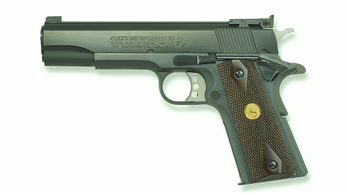 1911 pistols Colt Gold Cup National Match