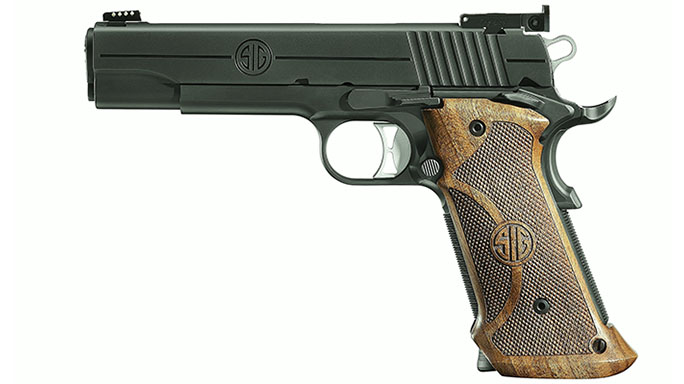 1911 pistols Sig Sauer 1911 Nitron Super Target
