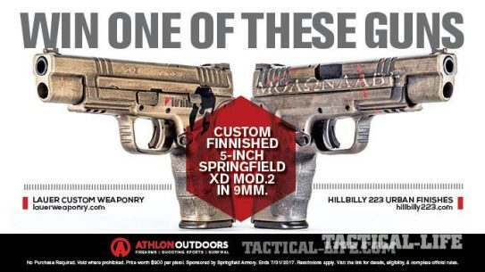 WIN a Custom Springfield Armory XD-9 Mod 2 Valued at $900