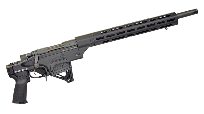 ashbury precision ordnance Saber m700 rifle folded