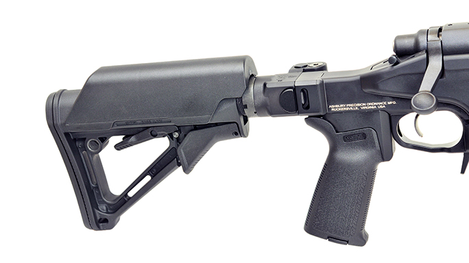 ashbury precision ordnance Saber m700 rifle stock