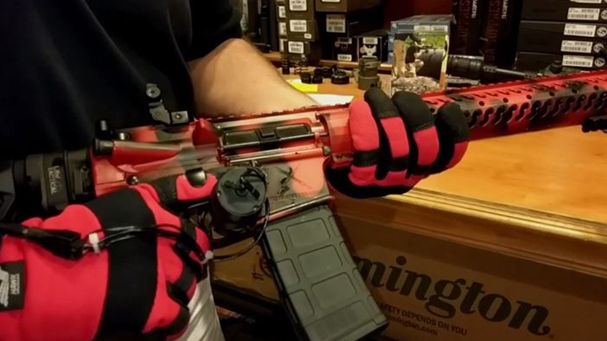 autoglove gloves rifle