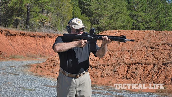 Black Dawn armory BDR-10 rifle test