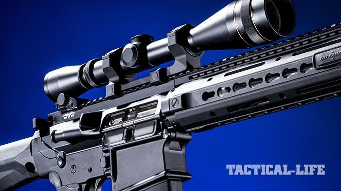 Black Dawn armory BDR-10 rifle scope