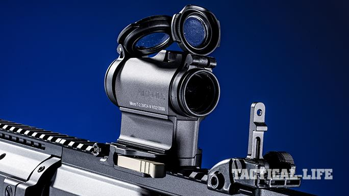 Black Dawn armory BDR-10 rifle optics