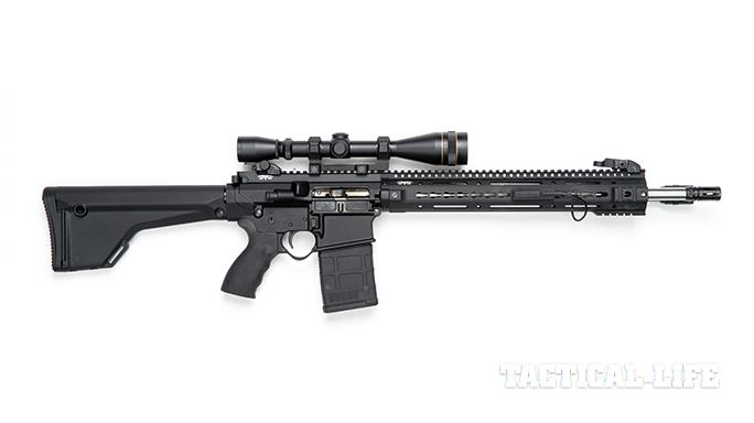 Black Dawn armory BDR-10 rifle right profile