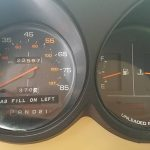 FBI Surveillance Van speedometer