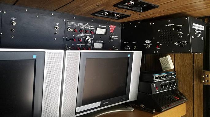 FBI Surveillance Van electronics