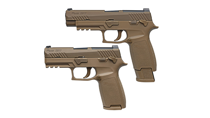 Sig Sauer P320 and Glock