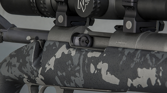 Gunwerks RevX rifle scope finish