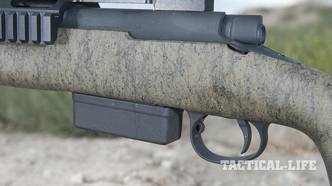 H-S Precision HTR rifle magazine in rifle