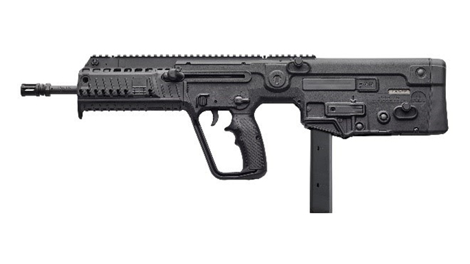 IWI TAVOR X95 rifle left profile