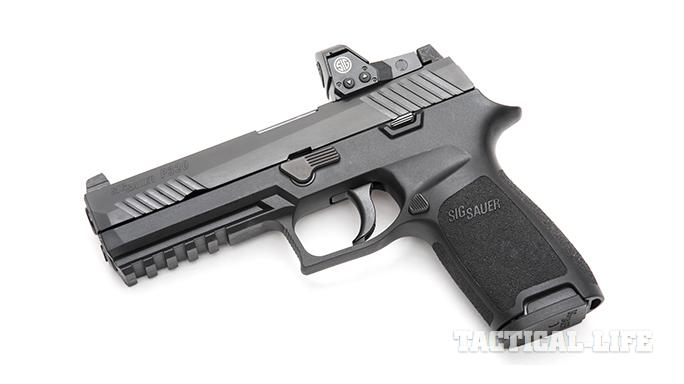 Sig Sauer P320 RX Full-Size pistol left angle