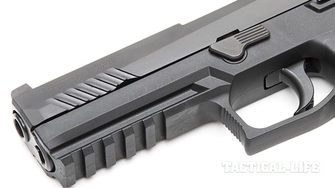 Sig Sauer P320 RX Full-Size pistol rail