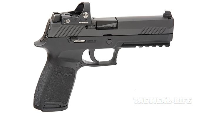 Sig Sauer P320 RX Full-Size pistol right profile