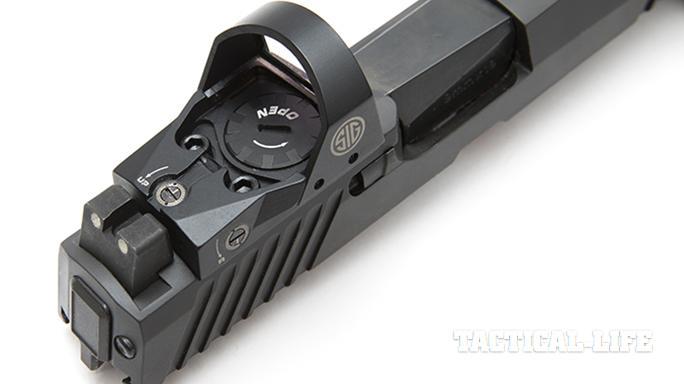 Sig Sauer P320 RX Full-Size pistol romeo1 optic
