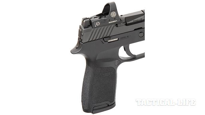Sig Sauer P320 RX Full-Size pistol romeo1 reflex