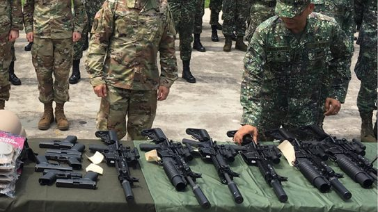 Philippine Marines surefire delivery