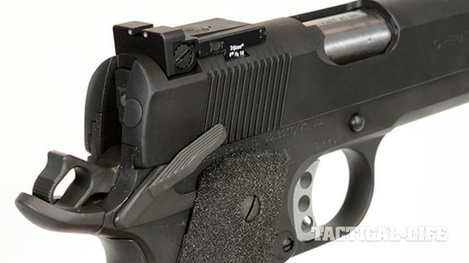 Pilot Mountain Arms Operator 1911 pistol rear sight