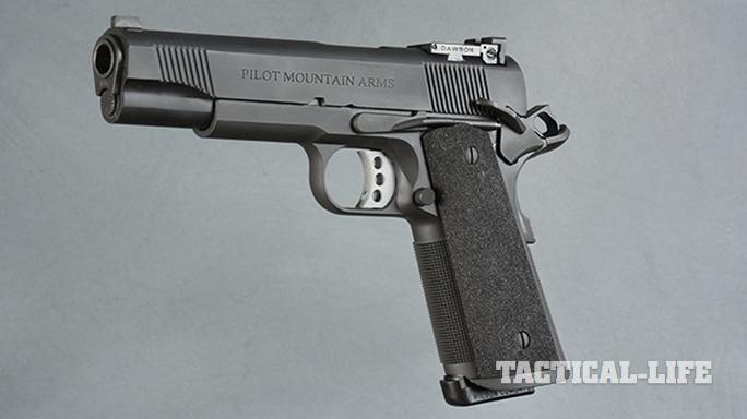 Pilot Mountain Arms Operator 1911 pistol left profile