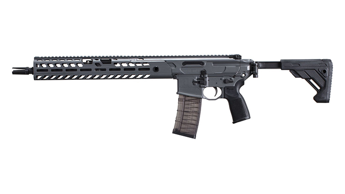 Sig MCX Virtus Patrol rifle left profile