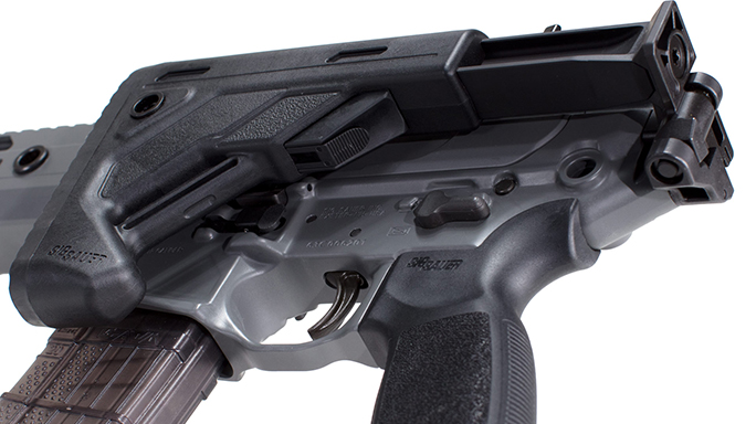 Sig MCX Virtus Patrol rifle stock