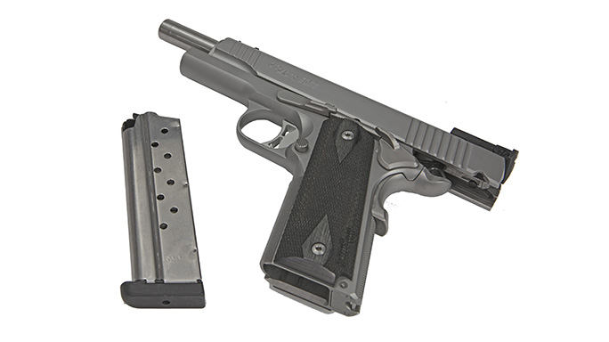 Sig 1911 Match Elite Stainless pistol slide