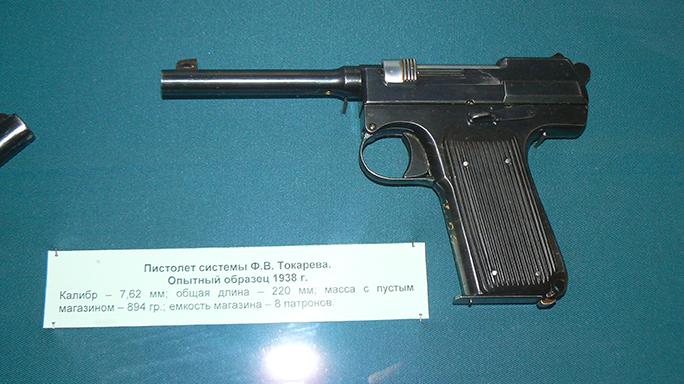 soviet experimental weapons federov pistol