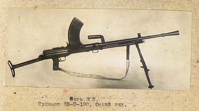 soviet experimental weapons kb-p-180 machine gun