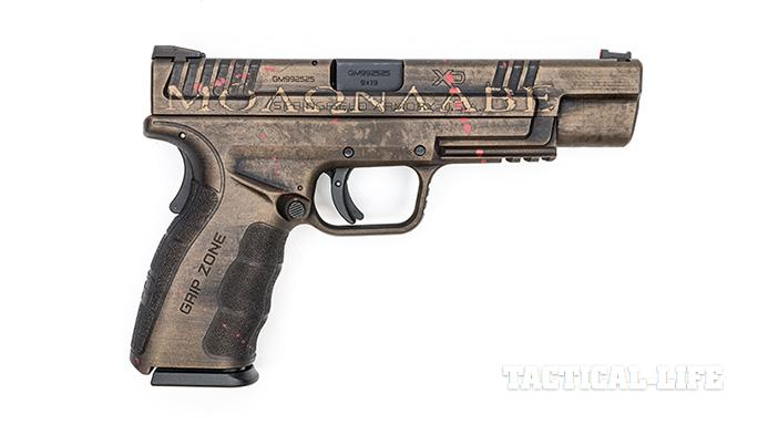 Hillbilly 223 Urban Finishes springfield xd right profile