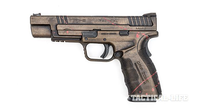 Hillbilly 223 Urban Finishes springfield xd left profile