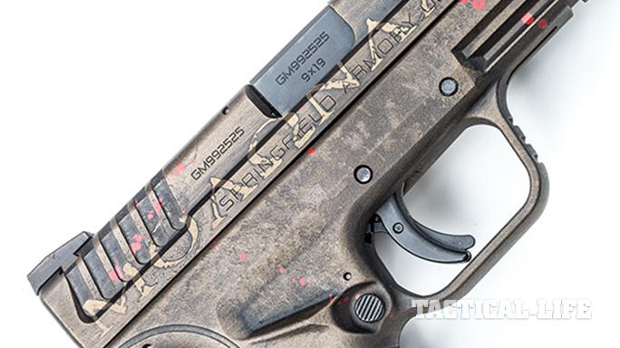 Hillbilly 223 Urban Finishes springfield xd slide