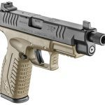 Springfield XDM 4.5 inch Threaded Barrel pistol right angle